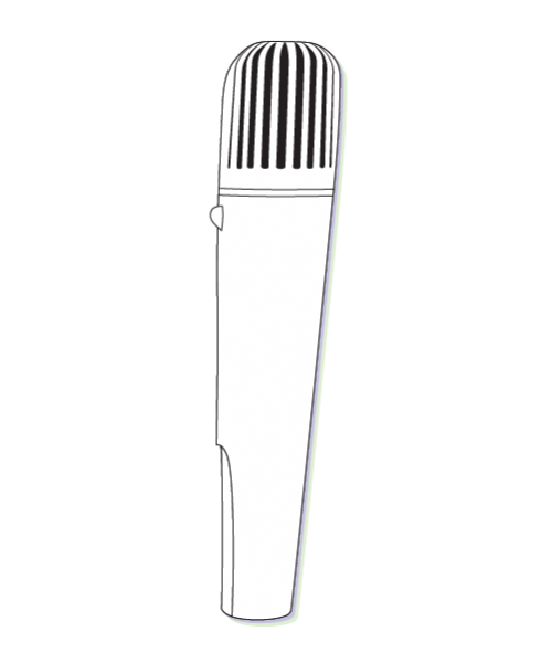 Roger Pass Around Microphone